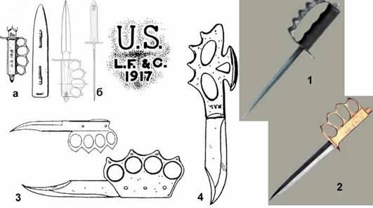 Как сделать из бумаги кастет нож